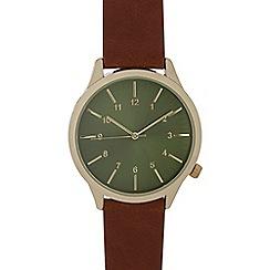 Red Herring - Ladies brown analogue watch