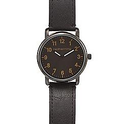 Red Herring - Men's black stainless steel watch