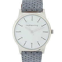 Red Herring - Silver watch with interchangeable straps