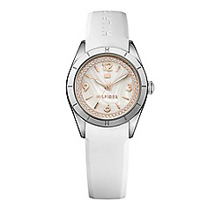 Tommy Hilfiger - Ladies mother of pearl dial strap watch