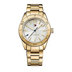 Tommy Hilfiger - Ladies silver dial bracelet watch