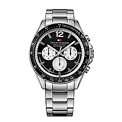 Tommy Hilfiger - Men's black chronograph bracelet watch