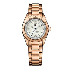 Tommy Hilfiger - Ladies white mother of pearl bracelet watch