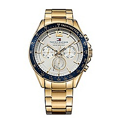 Tommy Hilfiger - Men's white chronograph bracelet watch