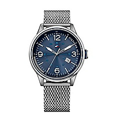 Tommy Hilfiger - Men's blue dial bracelet watch