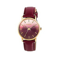 Kahuna - Ladies berry ombre vintage case watch