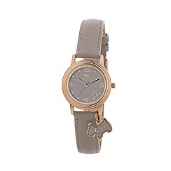 Radley - Ladies  watch with rose gold plated case and marsupial genuine leather strap ry2130