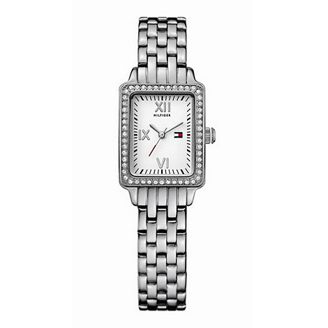 Tommy Hilfiger - Ladies stainless steel white dial bracelet watch