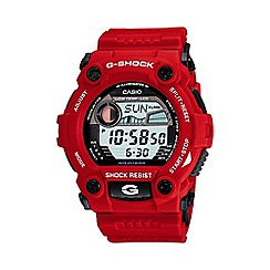 G-shock - Men's red digital watch g-7900a-4er