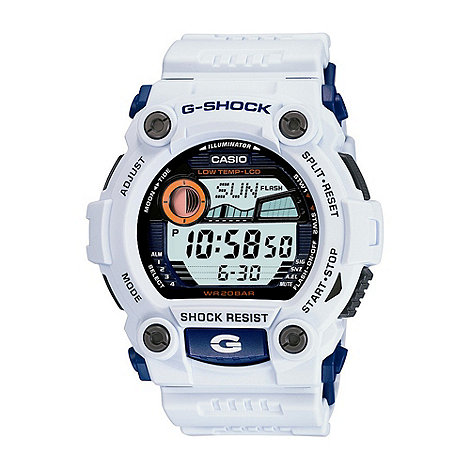 G-shock - Men+s off white digital watch