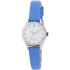 Radley - Ladies watch with stainless steel case and bluejay genuine leather strap