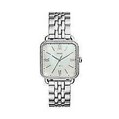 Radley - Ladies watch with stone set stainless steel case and stainless steel bracelet