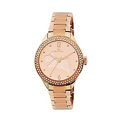 Radley - Ladies watch with rose gold plated case and rose gold plated bracelet