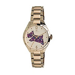Radley - Ladies watch with gold plated case and gold plated bracelet