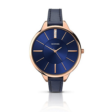 Sekonda Ladies rose gold watch 2144.28 | Debenhams