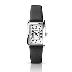 Sekonda - Ladies black strap watch