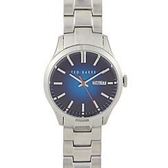 Ted Baker - Men's stainless steel blue dial watch