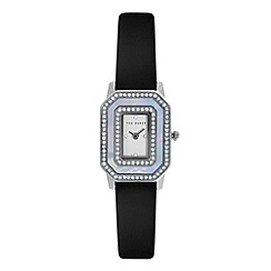 Ted Baker - Ladies MOP dial and black leather strap