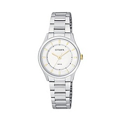 Citizen - Ladies stainless steel watch