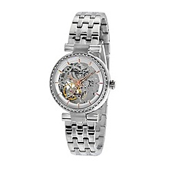 Kenneth Cole - Ladies silver dial and silver stainless steel bracelet