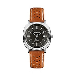 Barbour - Men's black dial QA strap watch bb018sltn