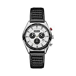 Barbour - Men's silver dial QA strap watch bb025whbk