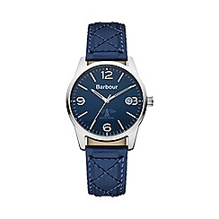Barbour - Men's blue dial QA strap watch
