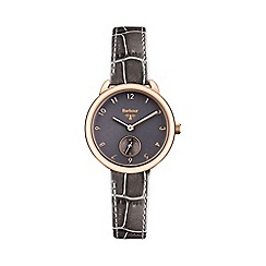 Barbour - Ladies grey dial QA strap watch bb035rsgy
