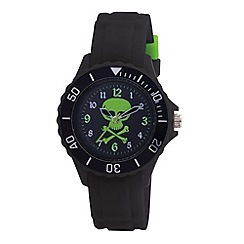 Tikkers - Kids' black skull sports watch