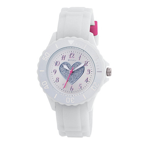 Tikkers - Kids+ white heart sports watch