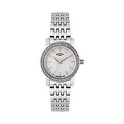 Rotary - Ladies stainless steel bracelet watch lb02460/07