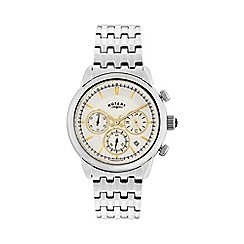 Rotary - Gents stainless steel chronograph bracelet watch