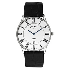 Rotary - Gents stainless steel ultra slim watch