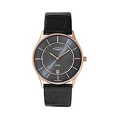 Rotary - Gents rose gold plated ultra slim watch