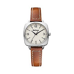 Barbour - Ladies cream dial QA strap watch bb003sltn