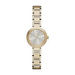 DKNY - Ladies gold 'stanhope' analogue watch