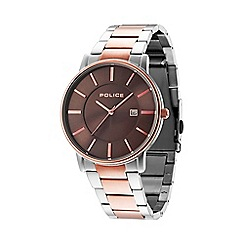 Police - Men's two tone bracelet watch