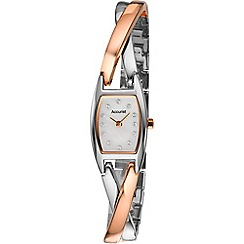 Accurist - Ladies two-tone bracelet watch