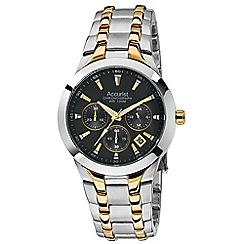 Accurist - Mens stainless steel bracelet watch
