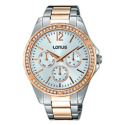 Lorus - Ladies two tone multidial bracelet watch