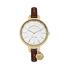 Fiorelli - Ladies tan leather strap watch fo004tg