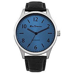 Ben Sherman - Men's black strap watch bs108