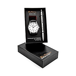 Ben Sherman - Men's pen and watch gift set bs119g