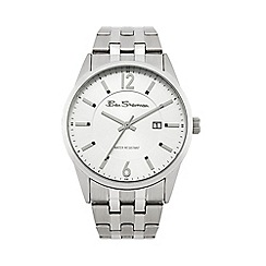 Ben Sherman - Men's silver tone bracelet watch