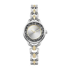 Fossil - Ladies silver 'urban traveller' bracelet watch