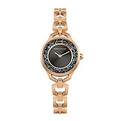 Fossil - Ladies rose gold 'urban traveller' bracelet watch