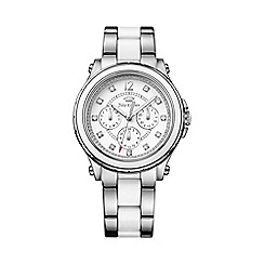 Juicy Couture - Ladies silver chronograph bracelet watch