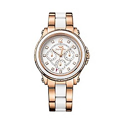 Juicy Couture - Ladies two tone chronograph bracelet watch 1901303