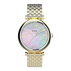 Juicy Couture - Ladies gold glitter dial bracelet watch