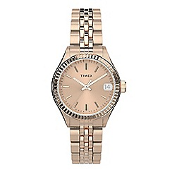 Juicy Couture - Ladies rose gold glitter dial bracelet watch 1901329